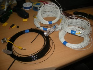 Antenne und ihre Radiale