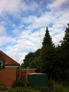 Antennen für den WAE DXC