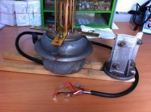 Rotor mit Winkelblechen anstelle der Klemmbacken