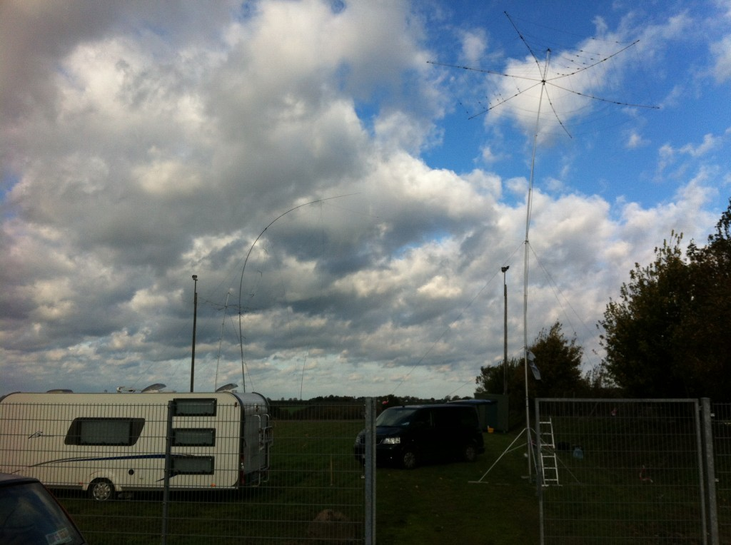 Antennen, Shack und Quartier