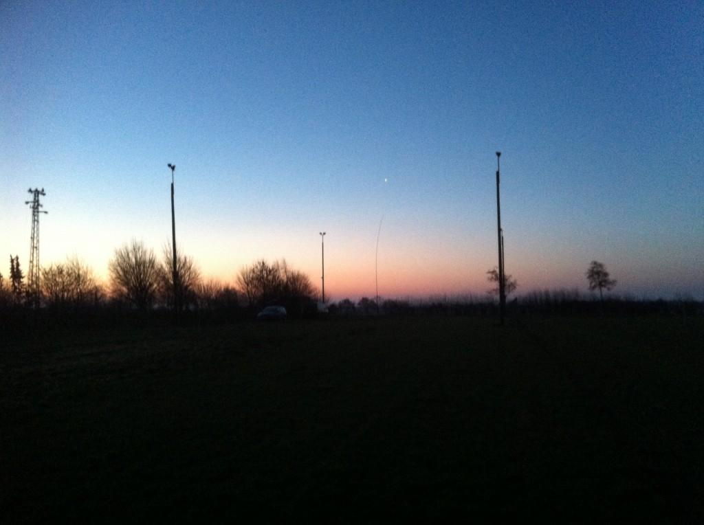 Die Skyline unseres FD-Platzes
