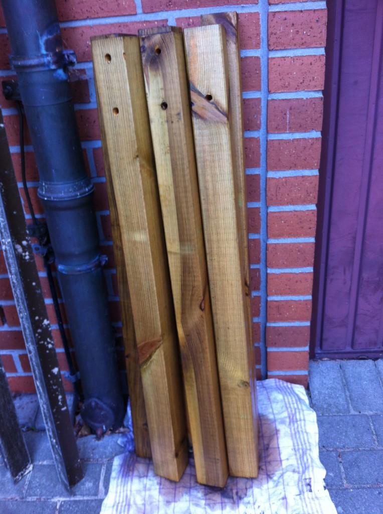 Konstruktiver Holzschutz mit Douglasien-Öl