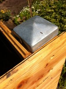 Konstruktiver Holzschutz - Pfostenkappe