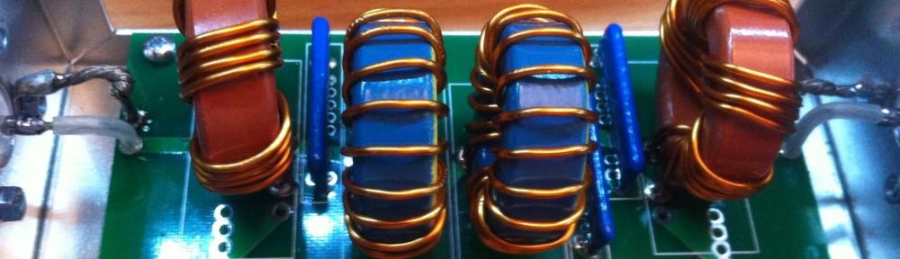15m-Bandpassfilter mit seltsamen Filterkurven
