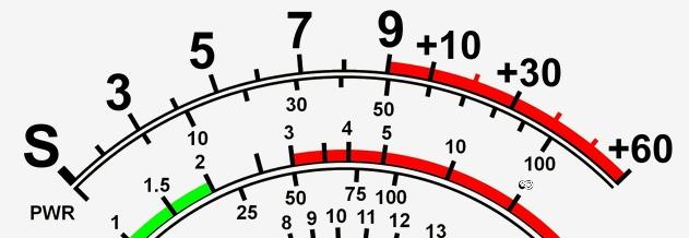 S-Meter-Skala (c) do1nmn.dxx.eu