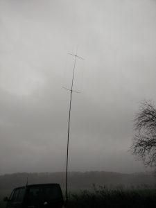 10m-Oblong am Spiderbeam-Fiberglasmast