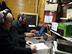 Funkbetrieb bei DM5C zum UKW-Märzcontest