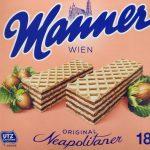 Mitgbringsel aus Wien - Manner Neapolitaner Waffeln