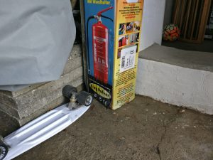 Wassereinbruch Garage III