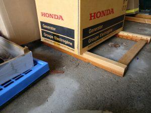 Wassereinbruch Garage II