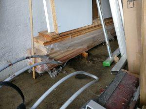 Wassereinbruch Garage I